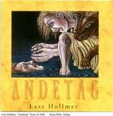 Lars Hollmer: ANDETAG -Cover by Pelle Engman